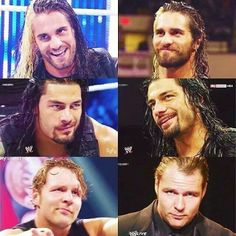 The Shield.. these men.. all hot in their way... But Roman Reigns takes it.. HOT!!