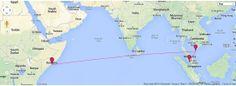 Mar 8, 2014 : Likely destination Somalia. Pirate highjacking. Website name DAFTLOGIC could be true :-)