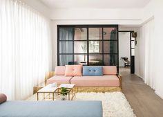 lim+lu revamps a couple's traditional apartment in hong-kong