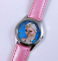 New Frozen Princess Wrist Quartz Lady Man Girl Child Boy Watch 254