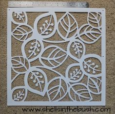 Stencil used for Gelli Plate Prints by Michelle Reynolds.- Stencil used for Gelli Plate Prints by Michelle Reynolds. Stencil used for Gelli Plate Prints by Michelle Reynolds. Stencil Printing, Gelli Plate Printing, Stencil Art, Screen Printing, Stencil Patterns, Stencil Designs, Stencil Templates, Embroidery Patterns, Hand Embroidery