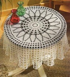 free crochet tablecloth for beginner | Posts related to Free Filet Crochet Patterns For Tablecloths