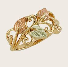Black Hills Gold - Landstroms LR3044 Ladies Ring