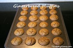 gingerbread muffins recipe from recipesfoodandcooking.com
