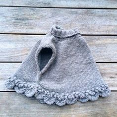 Knitting for Olive: STIKKELSBÆR PONCHO strikkeopskrift