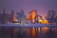 Olavinlinna Castle, Savonlinna, Finland