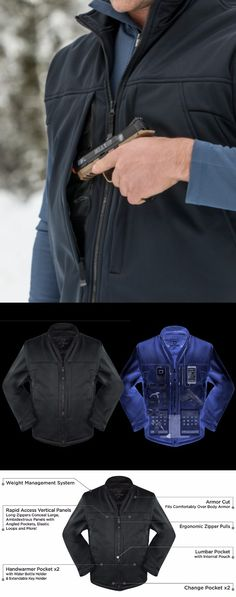 SCOTTeVEST Enforcer Jacket - 30 Pockets – CCW Tactical, Travel Clothing