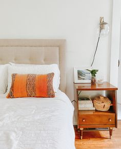 One-of-a-kind Moroccan kilim pillow made from vintage rugs. This is the perfect addition to your simple and classic bedroom or living room. A touch of color that will help you renovate your house without spending a lot. Lucky Collective Textile #LuckyCollective #Kilim #ThrowPillow How To Make Pillows, Moroccan Kilim, Orange Throw Pillows, Kilim Pillows, Moroccan Throw Pillow, Pillows, Classic Bedroom, Vintage Rugs, Pillow Room