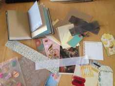 Baby Boy Junk Journal – Dolce Creativity All the necessities to make a cute junk journal as a babyshower present. This one is for the mother of a new born baby boy