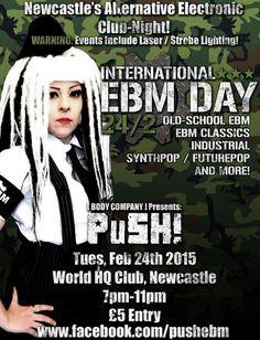 PuSH @ World HQ club, Newcastle.