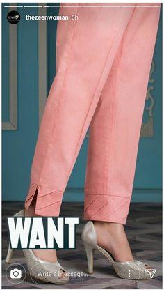 Silk Kurti Designs, Salwar Designs, Kurta Designs Women, Plazzo Pants, Salwar Pants, Trouser Pants, Kurti Sleeves Design, Kurta Neck Design, Stylish Dress Designs