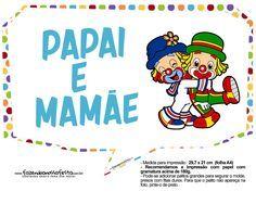 Plaquinhas Patati e Patata 5 Clown Party, Circus Clown, Smurfs, Disney Characters, Fictional Characters, 1, Lazy Town, Clowns, Gabriel
