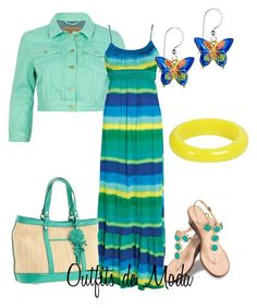 Un paseo por la Playa by outfits-de-moda2 on Polyvore featuring moda, River Island, Lilly Pulitzer, Cole Haan and Ben-Amun
