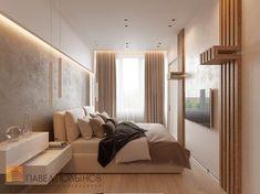 Фото: Спальня - Интерьер квартиры в современном стиле, ЖК «Московский квартал», 130 кв.м.