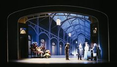 My Fair Lady. Village Theatre. Scenic design by Robert A. Dahlstrom.