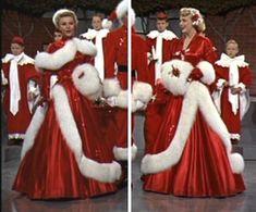 White christmas movie dress patterns
