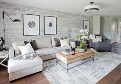 Love It Or List It Vancouver: Brandy & Aaron. This BEAUTIFUL feature wall is made from 100 year old reclaimed wood from a barn!! LOVE, LOVE, LOVE!!!!