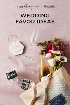 Find wedding favors that will serve as a heartfelt thank you and a one-of-a-kind memento of the event. Make them unique with these 68 ideas perfect for your big day.