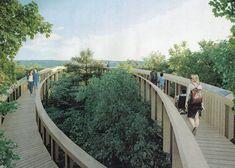 Sétálj a lombok között! Lombok, Outdoor Furniture, Outdoor Decor, Garden Bridge, Hungary, Budapest, Deck, Outdoor Structures, Travel