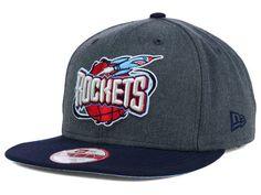 new concept 767d6 3e679 Houston Rockets New Era NBA HWC 2 Tone Action Original Fit 9FIFTY Snapback Cap  Hats Snapback