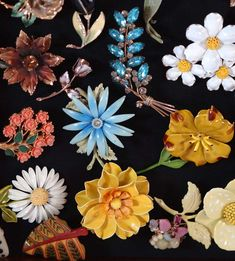 Wonderful how to display a brooch collection step by step. This creates a wall display as well as accessibility to the brooches if you wish to wear them.