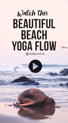 Beach yoga just reached a new level. This motivational yoga video with Jess Rose filmed in Mexico shows us how yoga can inspire possibility and contentment. Yoga Pictures, Yoga Photos, Qi Gong, Beautiful Yoga, Beautiful Beaches, Strand Yoga, Chakra, Yoga Sequence For Beginners, Restorative Yoga Poses