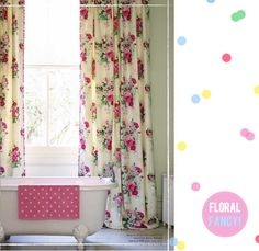 Cath Kidston Magazine - Bright Bazaar by Will Taylor Cath Kidston Curtains, Cottage Style Baths, House Architecture Styles, Victorian Bathroom, Beautiful Curtains, Craftsman Style House Plans, Bathroom Windows, Pip Studio, Cute Home Decor