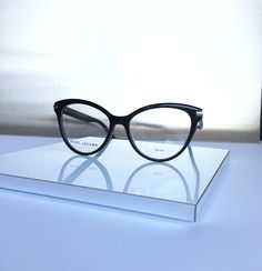 You can order these Marc Jacobs fashion sunglasses and eyeglasses with or without prescription lenses on our webshop www.eyecatchonline.com Marc Jacobs Eyewear, Sunglasses Online, Prescription Lenses, Eyeglasses, Stuff To Buy, Fashion, Eyewear, Moda, Fashion Styles