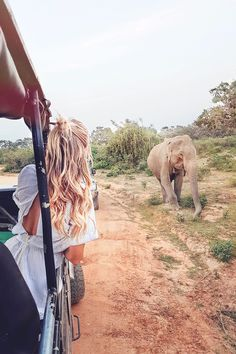 Going on open-jeep safari saying hi to elephants at Yala National Park I Sri Lanka: www.ohhcouture.co... #ohhcouture #leoniehanne