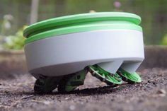 The inventor of the Roomba tells us about his new solar-powered, weed-destroying robot