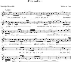 Dos Soles. Canto de Trilla Murciano