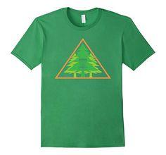 Men's Disc Golf Basket With Trees - Funny Disc Golf T Shirt 2XL Grass