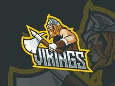 Sports Team Logos, Sports Brands, Game Logo Design, Mascot Design, Armor Of God, Logo Sticker, Logo Concept, Graphic Design Illustration, Vector Design