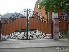 Grill Gate Design, Steel Gate Design, Wood Fence Design, Iron Gate Design, House Gate Design, Front Gates, Entrance Gates, Tor Design, Bamboo Light