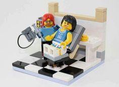 Cool Lego setup...