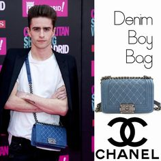 Pelayo Díaz Zapico y su Denim Boy Bag de Chanel