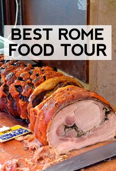 Best food tour in Rome! Highly recommend! #rome #travel #italy