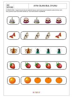 Worksheets For Kids, Perception, Preschool Activities, Teaching, Activities, To Tell, Note Cards, Kids Worksheets, Education