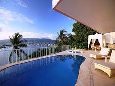 Relax in your bungalow by your private pool at las breezes in acapulco!