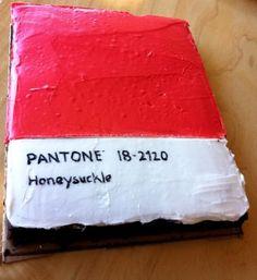 Pantone Cake!