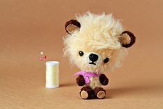 Toby ~ a miniature teddy bear