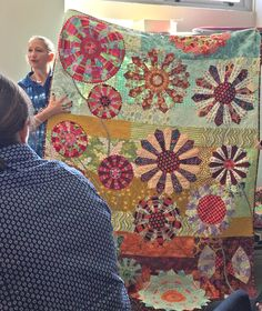 wooden spoon quilts: Modern Wedge Workshop with Kathy Doughty
