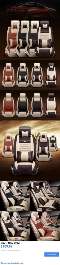 Luxury Cars: 5 Seats Universal Luxury Car Pu Leather Seat Cover Front And Rear Cushion 4 Colors BUY IT NOW ONLY: $109.97 #priceabateLuxuryCars OR #priceabate