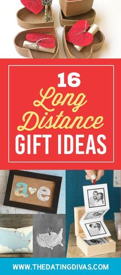 16 Long Distance Gift Ideas Long Distance Dating, Long Distance Boyfriend, Long Distance Love, Long Distance Relationship Gifts, Long Distance Gifts, Relationship Crafts, Relationship Advice, Long Distance Birthday, Distance Relationships