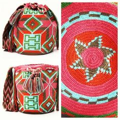 NOW REDUCED!! This amazing #CABO #mochilabag is tightly #woven by two strands of #thread at a time. Intricate in #design and #patterns, this #shoulderbag took up to 20 days to #handweave. The Cabo strap is extremely detailed and unique. This #bohostyle #beachbag / #bohobag is the perfect accessory for #fallfashion. #handmade in South America by the indigenous #wayuutribe. The #fairtrade Cabo is #art of its' own. www.wayuutribe.com #Reduced #Sale $160.00
