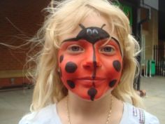 Versatility is a big advantage with simple face painting.  These small designs can be adapted and painted on the face/cheek, neck, shoulder, legs and arms. See more at http://easyfacepainting.x10host.com/easy-face-painting-designs-ideas