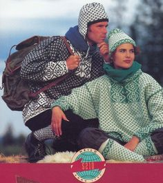 Dale of Norway--Irene Haugland Zahl--Woman's/Man's Pullover, Cardigan, Long and Short Socks, and Caps Knitting Books, Vintage Knitting, Short Socks, Fair Isle Knitting, Weaving Patterns, Norway, Vest, Pullover, Couple Photos