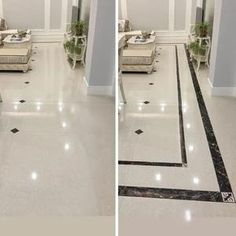 It helps to brighten and beautify your boring or white tiles, offering a new look at your home. Simple to stick it on, change the bald white floor and other bo Unique Home Decor, Diy Home Decor, Mobile Home Decorating, Decorating Ideas, Decor Ideas, Floor Design, House Design, Studio Apartment Design, Diy Home Repair