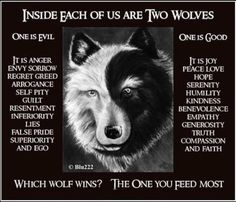 Which wolf will you feed today?