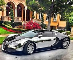The Bugatti was unveiled in Paris in 1991 and went into production until Bugatti went out of business in 1995 (Bugatti has since been resurrected by Volkswagen). The car was available as a two-door sports car and only 31 cars were produced. Bugatti Veyron, Bugatti Cars, Bugatti 2017, Ferrari, Exotic Sports Cars, Exotic Cars, Sexy Cars, Hot Cars, Dream Cars